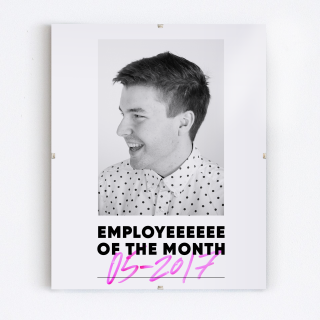 Employeeeee of the Month / May 2017